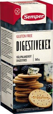 Semper Gluteenittomat välipalakeksit 160 g