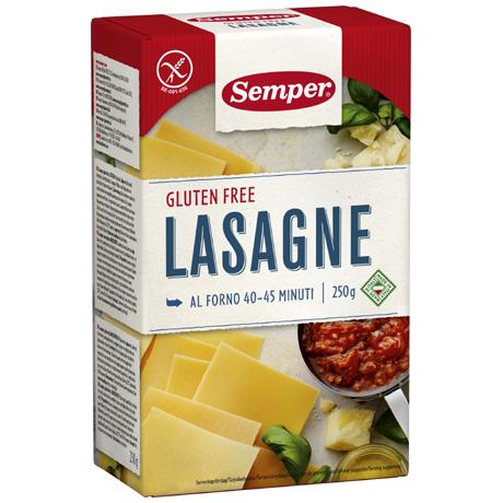Semper Gluteeniton Lasagne 250g