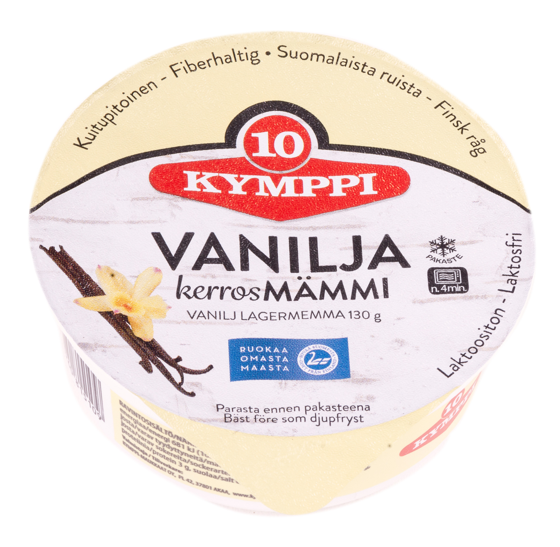 Kymppi Vanilja kerrosmämmi 130g