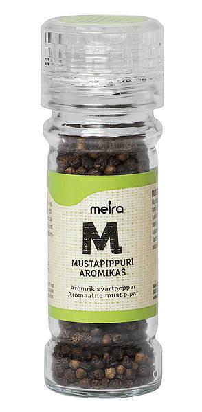 Meira mustapippuri aromikas 49 g mylly, suolaton