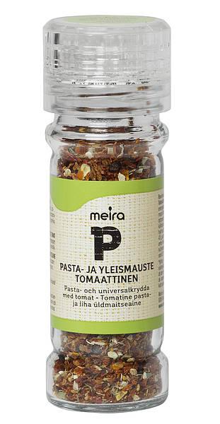 Meira pasta- ja yleismauste tomaattinen 44 g mylly, suolaton