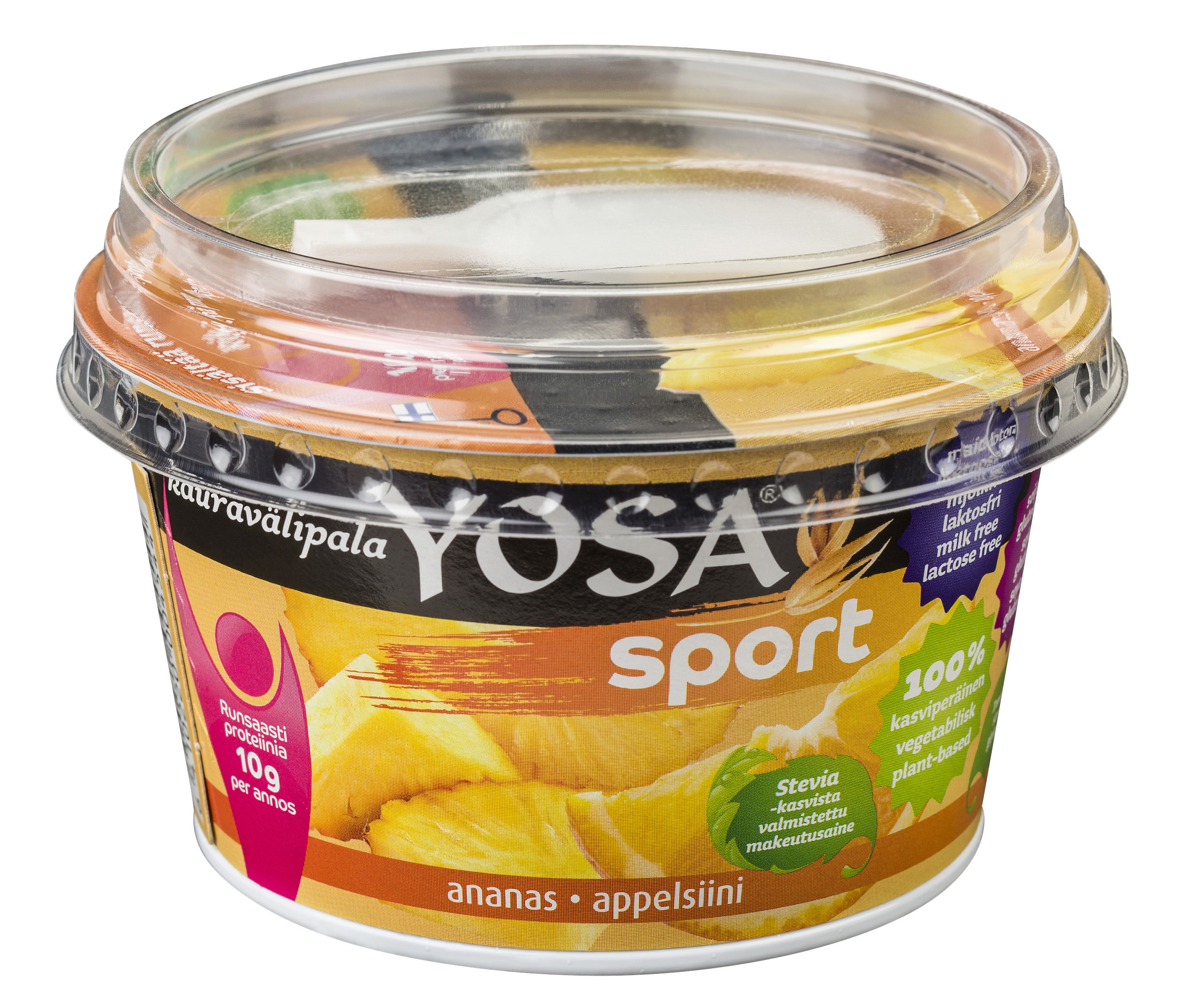 Yosa Sport Ananas-Appelsiini 200 g