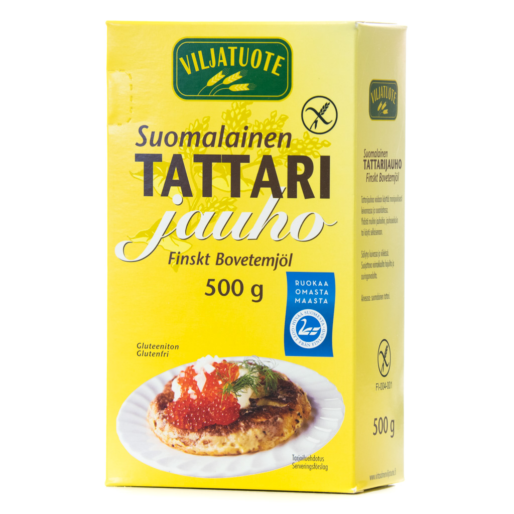 Virtasalmen Viljatuote Suomalainen Tattarijauho