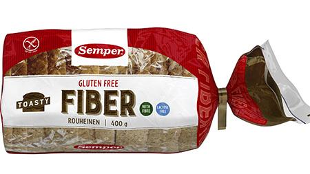 Semper Gluteeniton Toasty Rouheinen 400 g