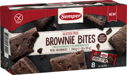 Semper Gluteenittomat Mini Brownies 8x30 g