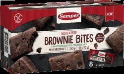 Semper Gluteenittomat Mini Brownies 8x30 g