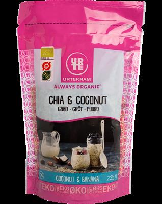Urtekram Chia & Coconut puuro Luomu 225 g