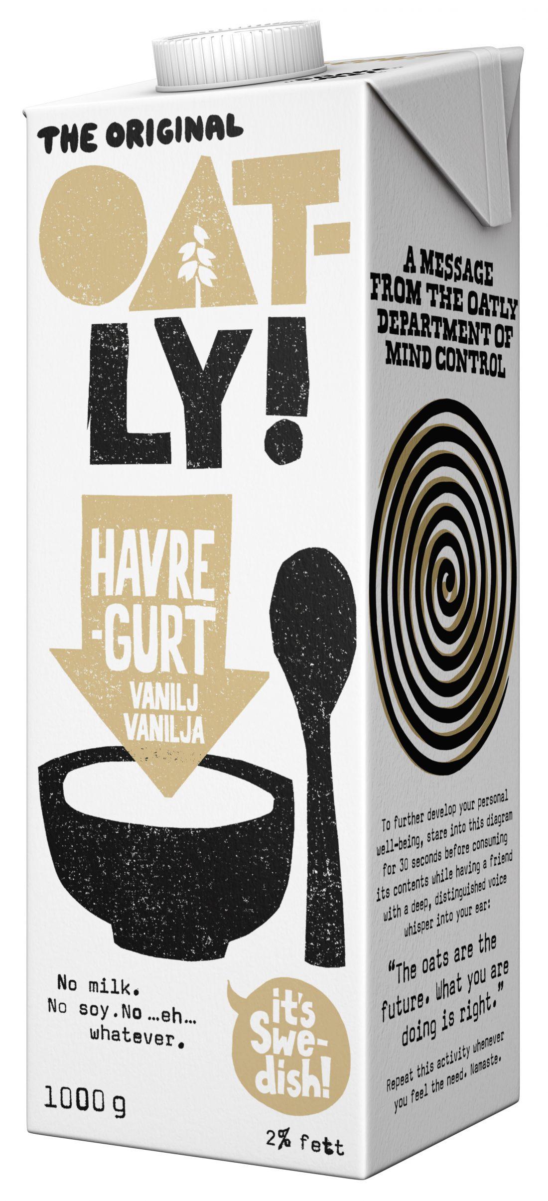 Oatly Vanilja Havregurt 1kg