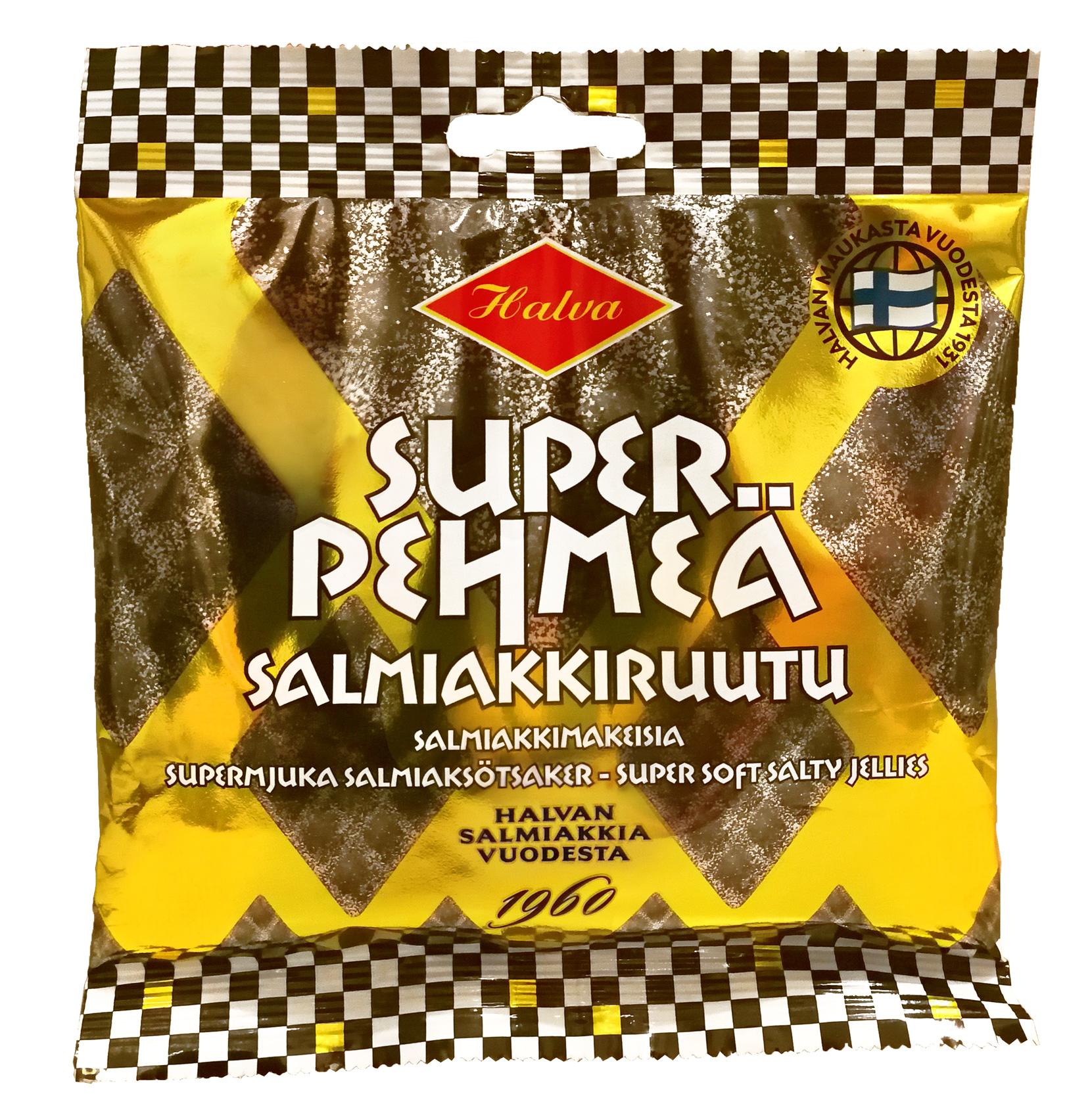 Halva Super Pehmeä Salmiakkiruutu 100 g