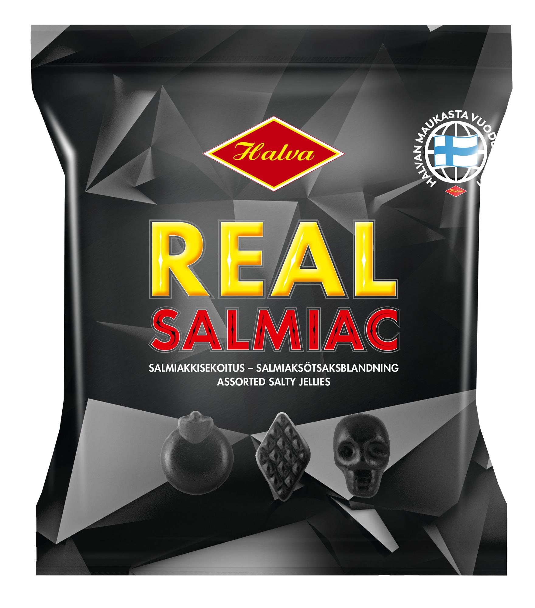 Halva Real Salmiac 120 g