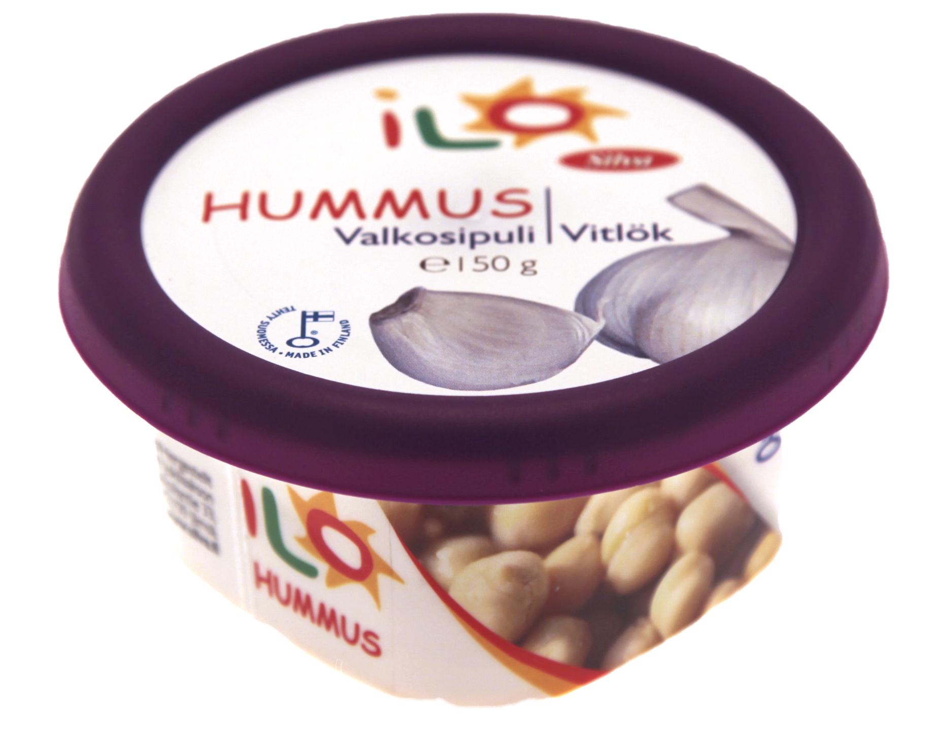 ILO Hummus Valkosipuli