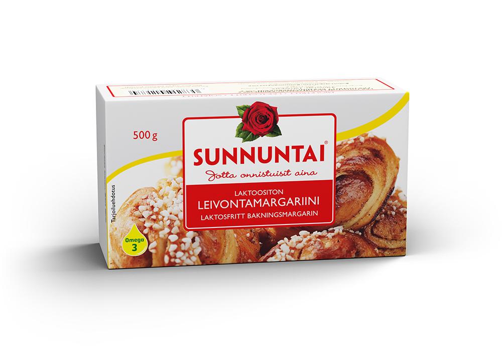 Sunnuntai laktoositon leivontamargariini 500 g