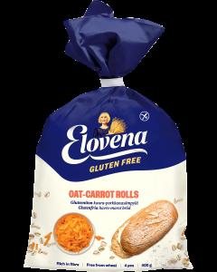Elovena Gluteenittomat Kaura-Porkkanasämpylät