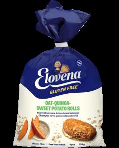 Elovena Gluteenittomat Kaura-Kvinoa-Bataattisämpylät