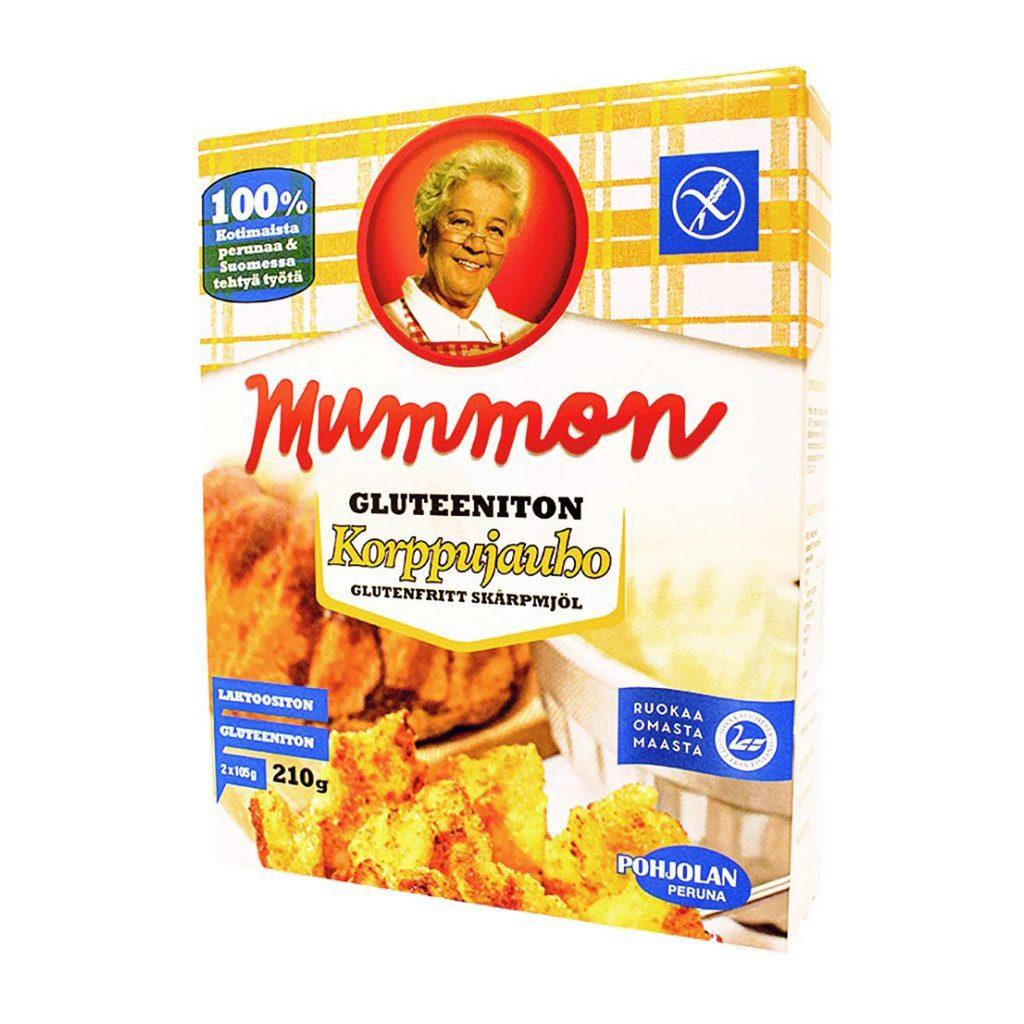 Mummon gluteeniton Korppujauho 210g