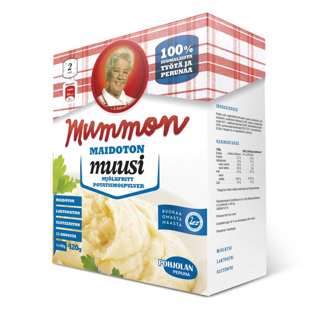 Mummon maidoton muusi 420g