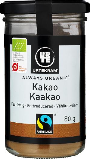 Urtekram Kaakaojauhe 80 g, luomu