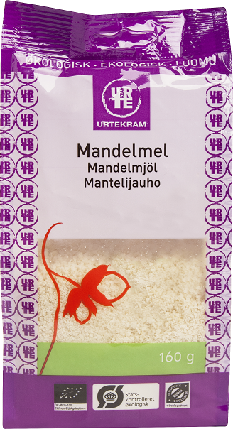 Urtekram Mantelijauho 160 g, luomu