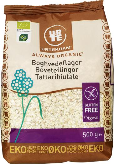 Urtekram Tattarihiutale 500 g, luomu