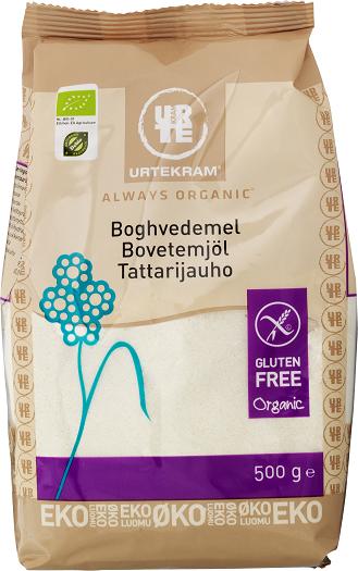 Urtekram Tattarijauho 500 g, luomu