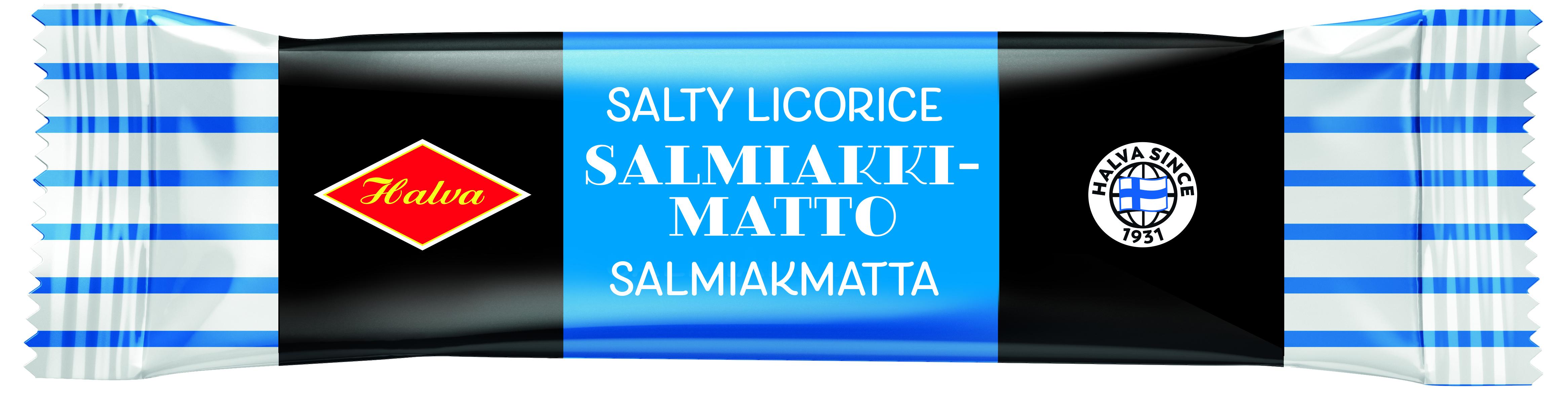 Halva Salmiakkimatto 60 g