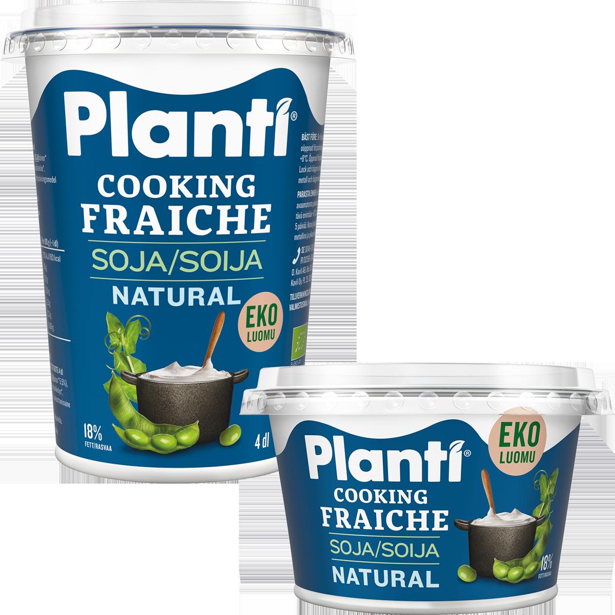 Planti Cooking Fraiche Natural EKO