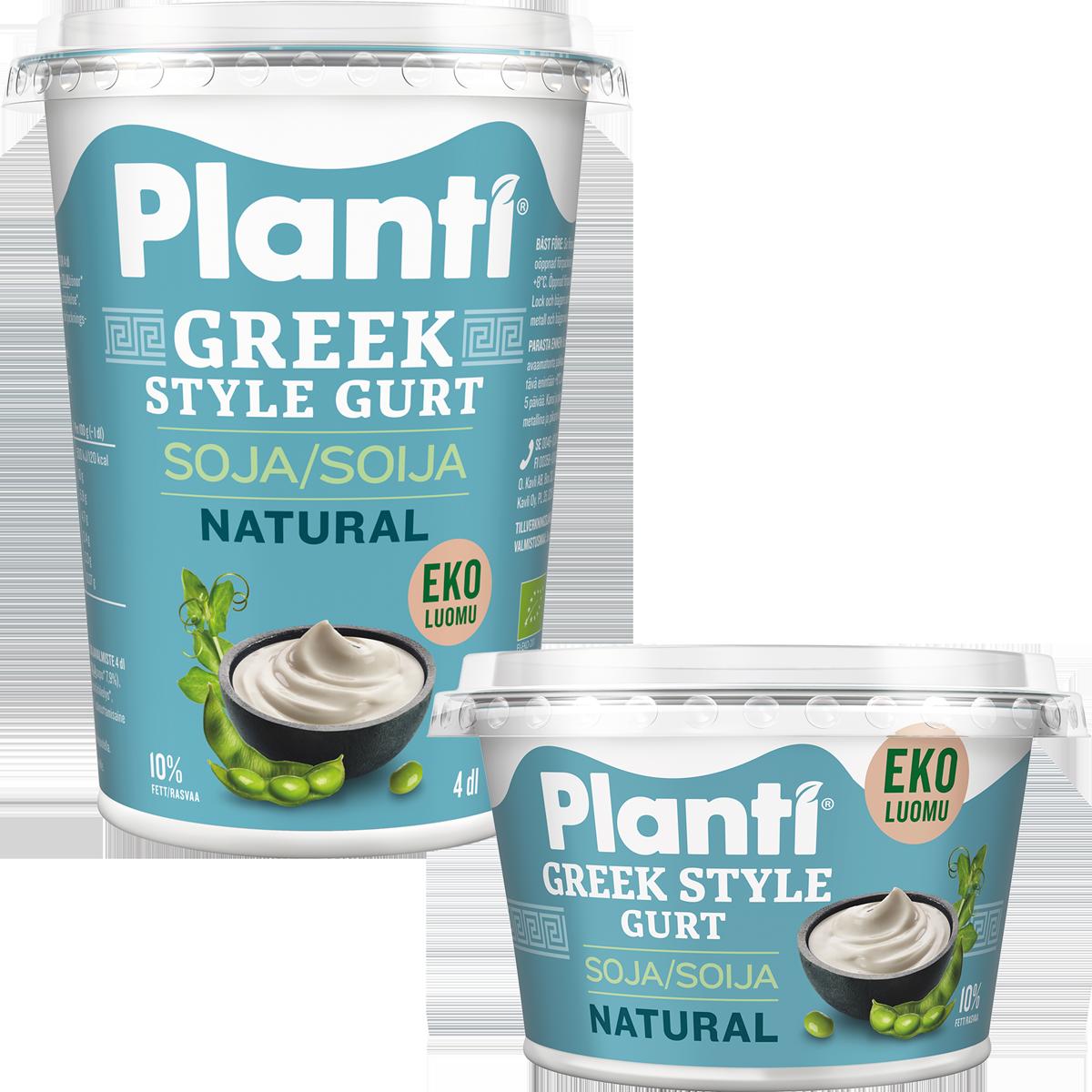 Planti Greek Style Gurt Natural EKO