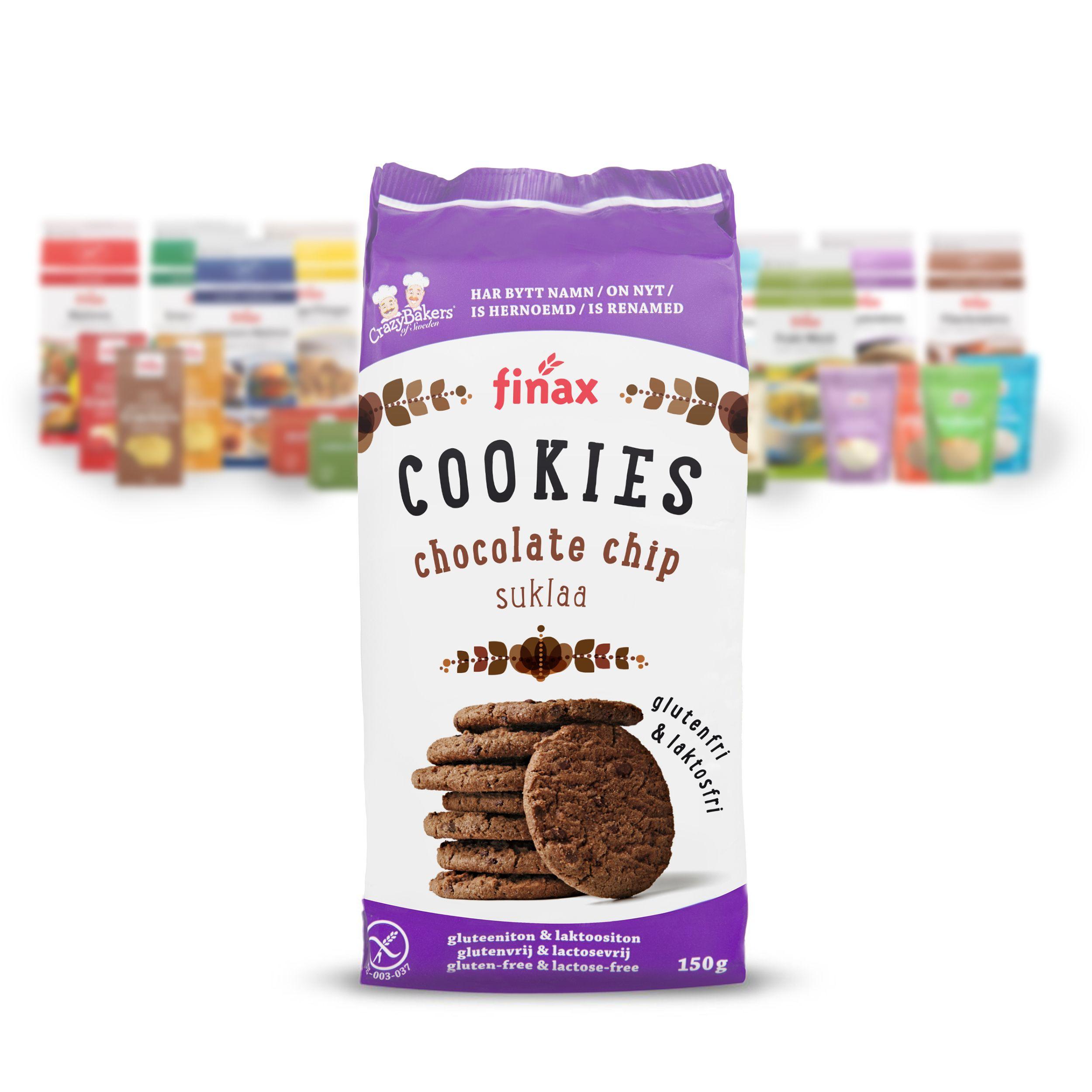 Finax Suklaa Cookies