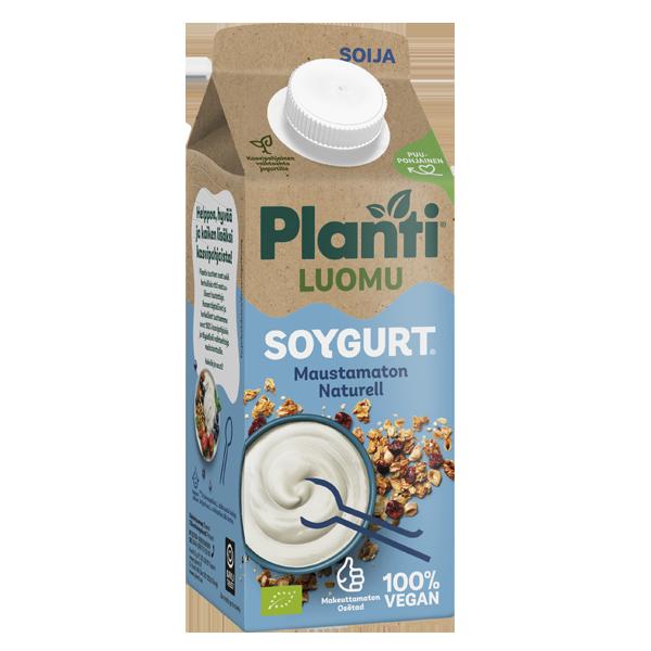 Planti Soygurt LUOMU Maustamaton