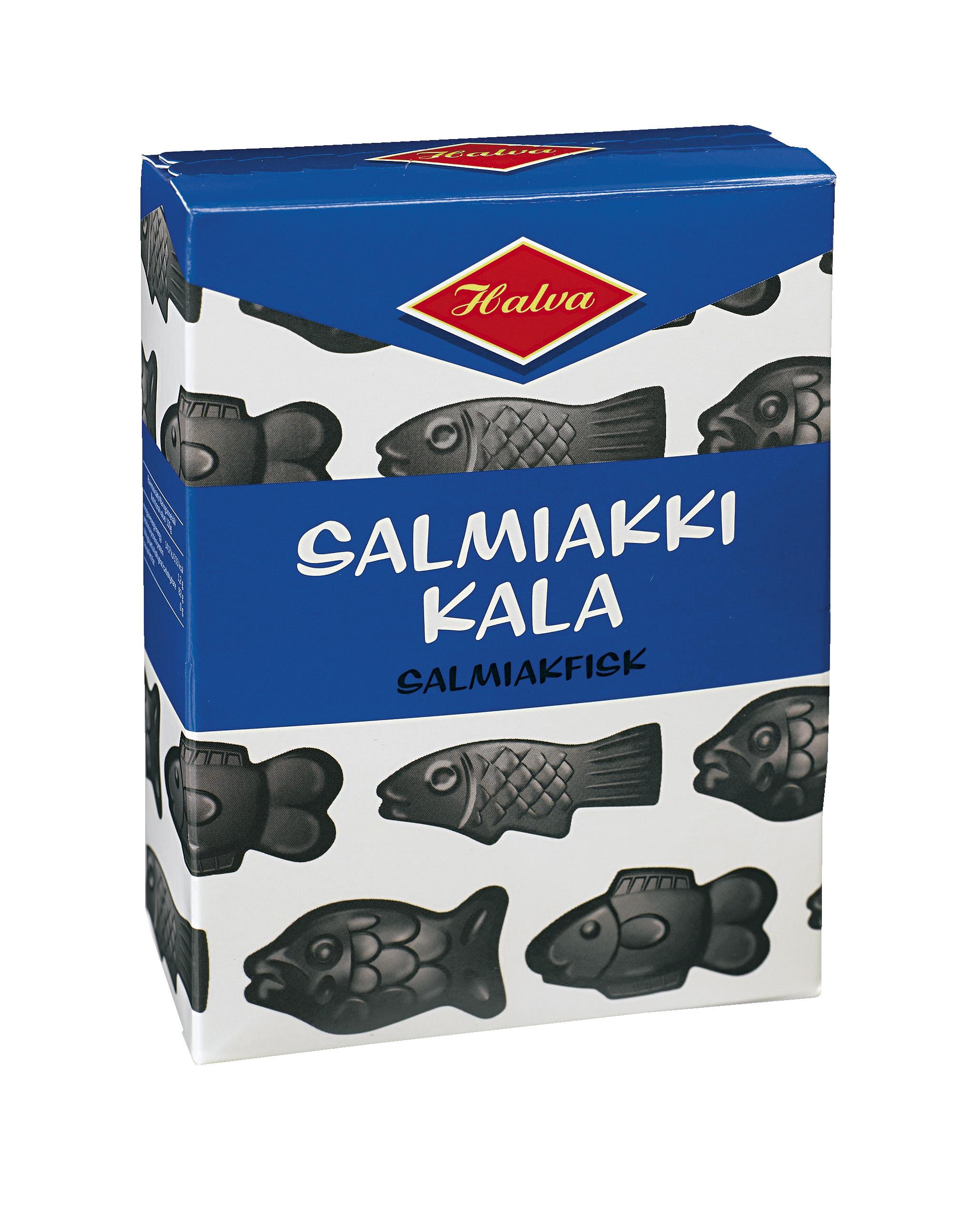 Halva Salmiakkikala 250g