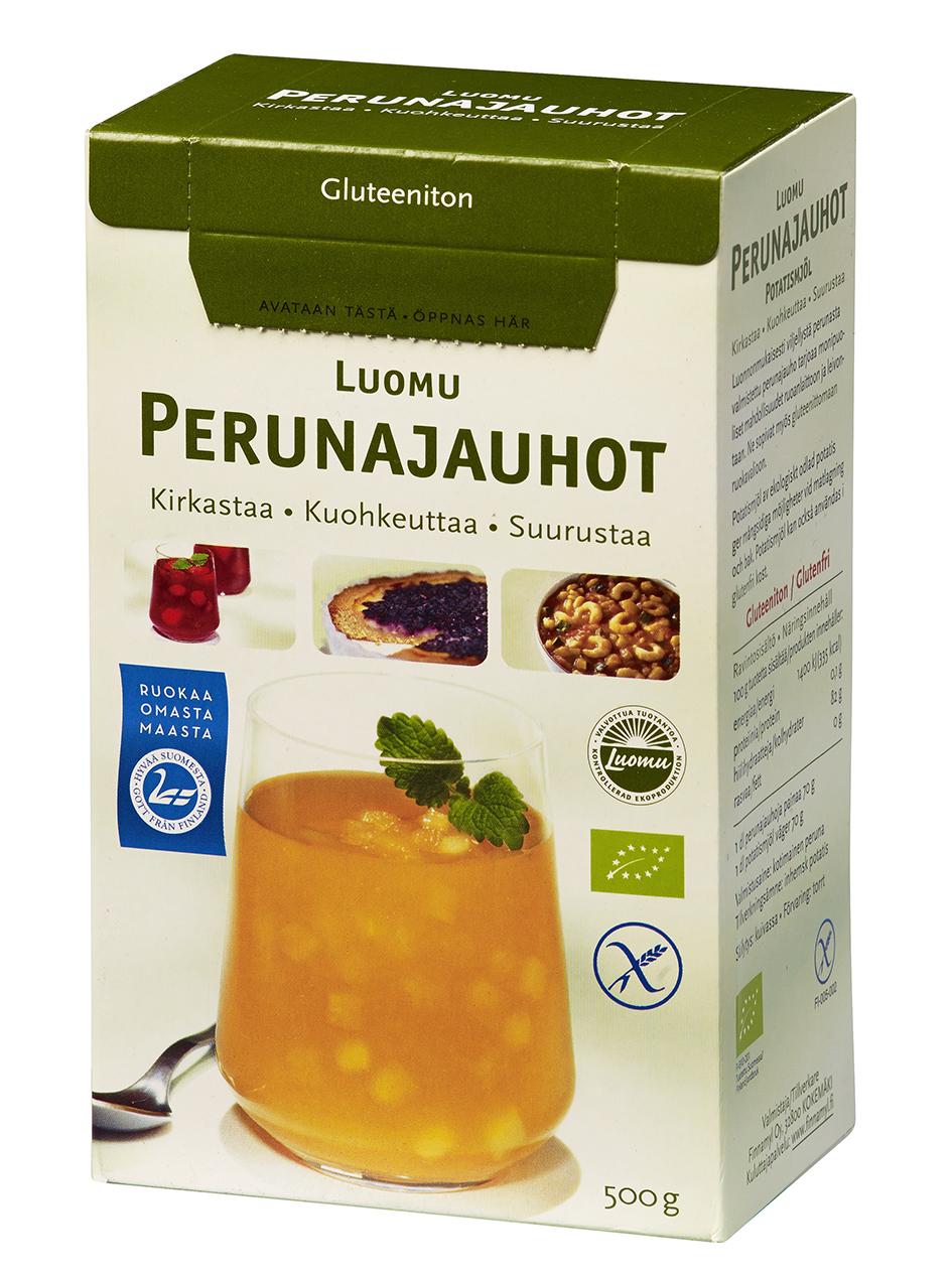 Finnamyl Luomu-perunajauhot 500 g