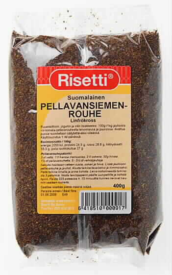 Pellavansiemenrouhe 400g suomalainen