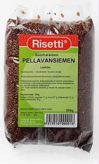 Pellavansiemen 500g suomalainen