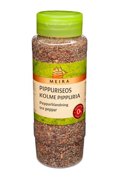 Meira Pippuriseos kolme pippuria 450 g, suolaton