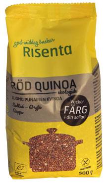 Risenta punainen kvinoa luomu
