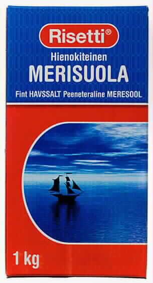 Merisuola 1kg hienokiteinen