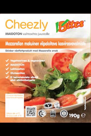 Cheezly Mozzarella-tyyppinen kasvirasvavalmiste