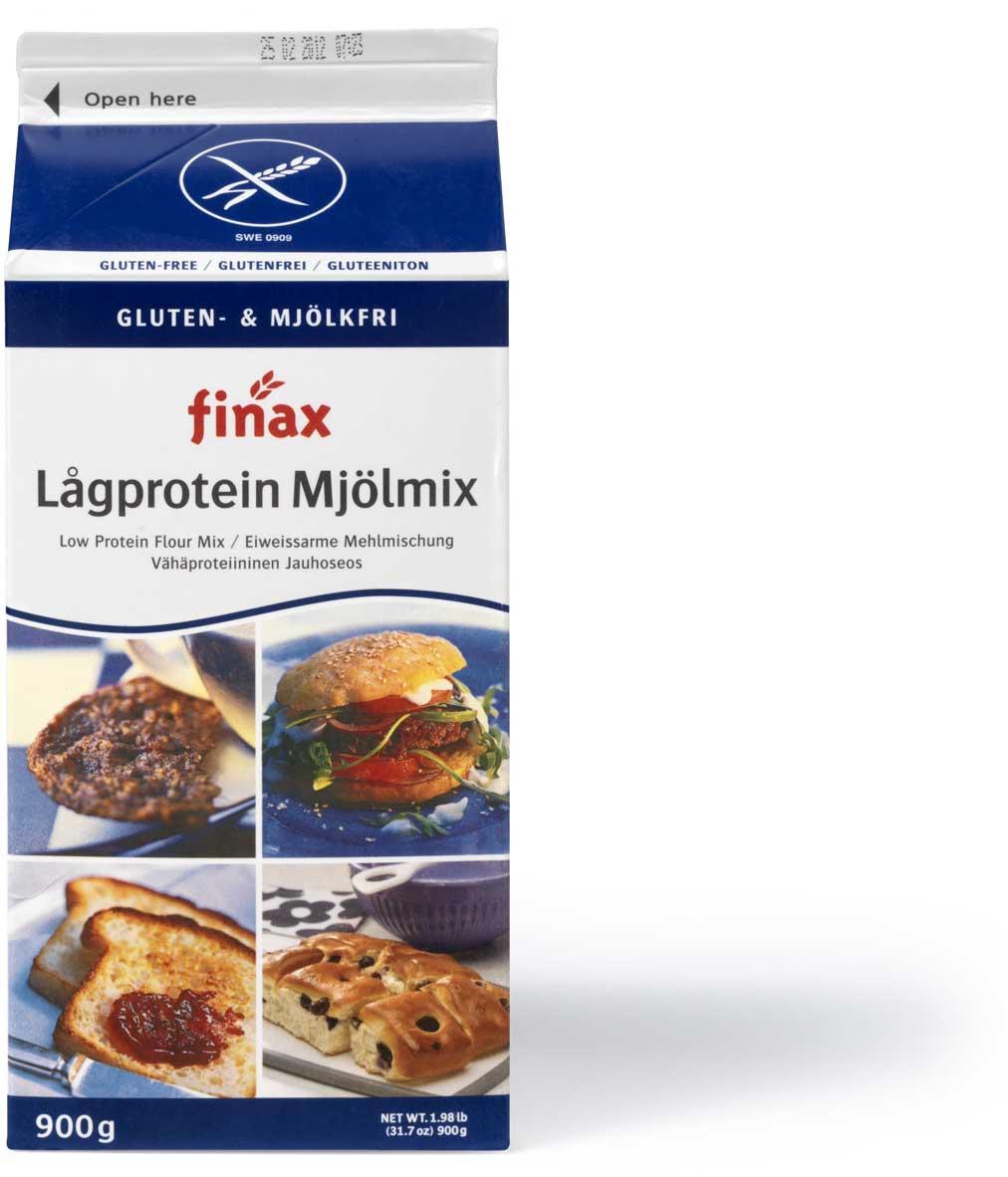 Finax Gluteeniton Vähäproteiininen Jauhoseos